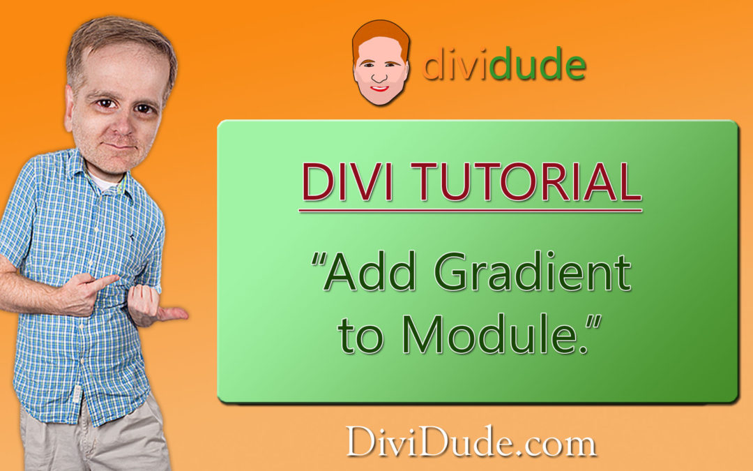 Add Gradients to Module Background in Divi