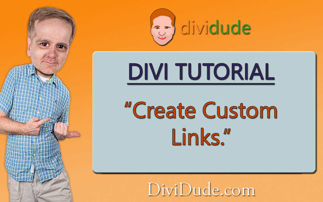 Customizing Links in Divi