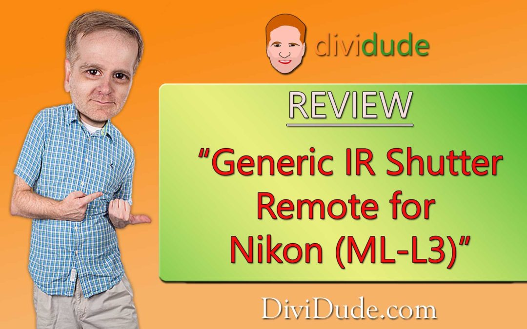 Review: Generic IR Shutter Remote for Nikon (ML-L3)