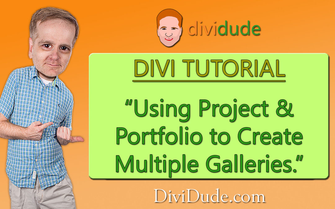Creating a Gallery to Showcase Multiple Galleries in Divi