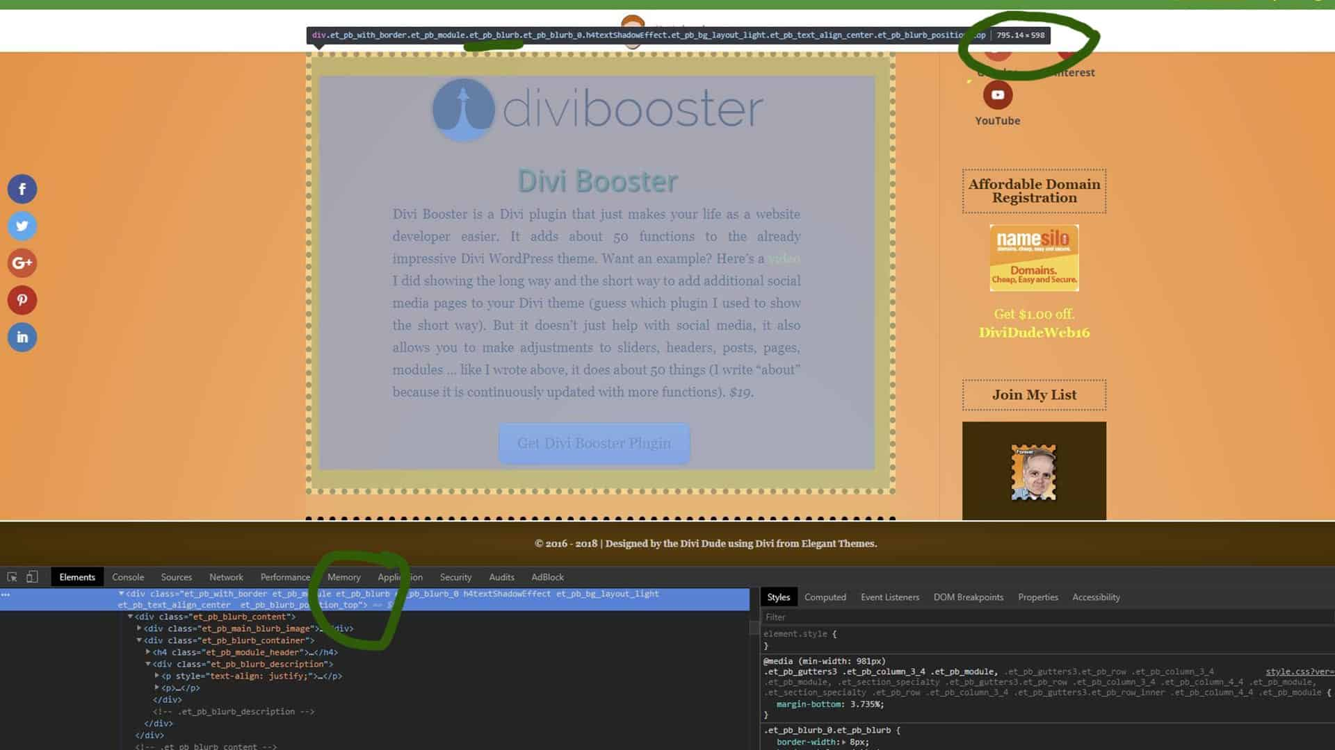 Divi Blurb Locating et_pb_blurb
