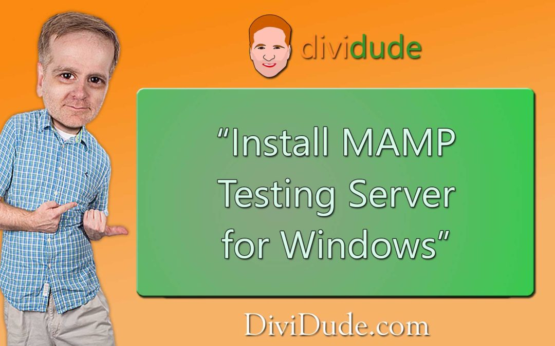 Install MAMP Testing Server for Windows